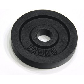Tunturi Gietijzeren Halterschijf - 30 mm - 2 x 1,25kg