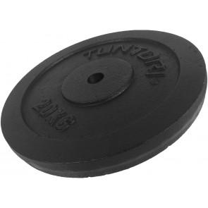 Tunturi Gietijzeren Halterschijf - 30 mm - 20kg
