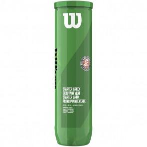 Wilson Starter Green Tennisbal, Blik 4 Stuks